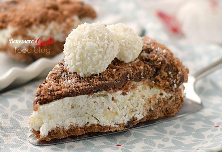 Torta cookies nutella e cocco