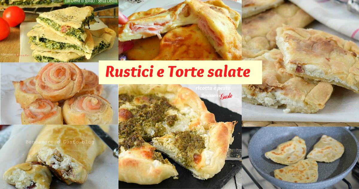 RUSTICI E TORTE SALATE PER LE FESTE
