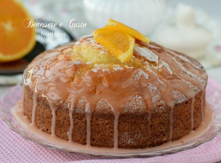 Torta Pan d'Arancio allo Yogurt