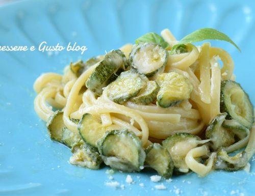PASTA ALLA NERANO – primo piatto con zucchine
