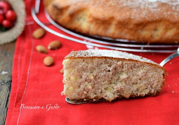 Torta pan morbido alle mandorle