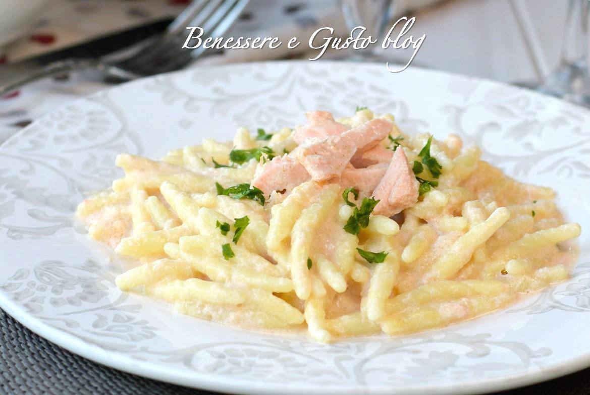 Pasta salmone e mascarpone