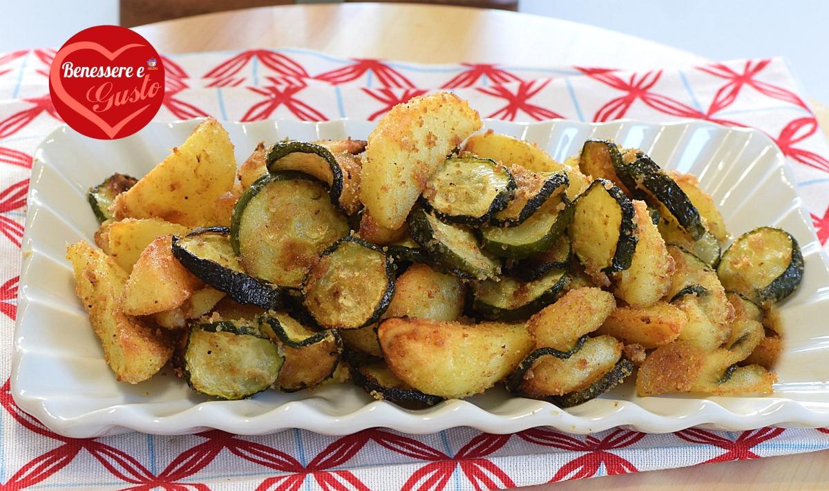 patate e zucchine al forno