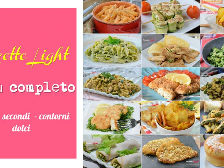 Ricette light menù