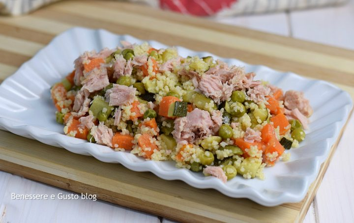 Cous cous verdure e tonno ricetta for Cucinare cous cous