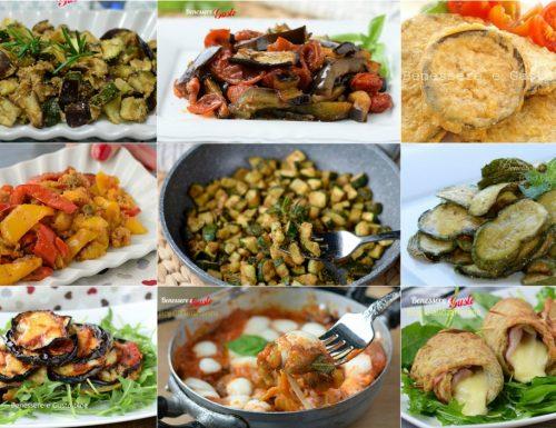 CONTORNI ESTIVI ricette facili
