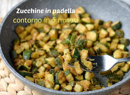 ZUCCHINE GRATINATE IN PADELLA contorno light in 5 minuti