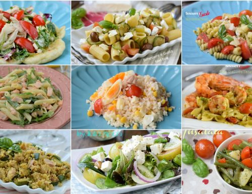INSALATE ESTIVE ricette piatti freschi e veloci