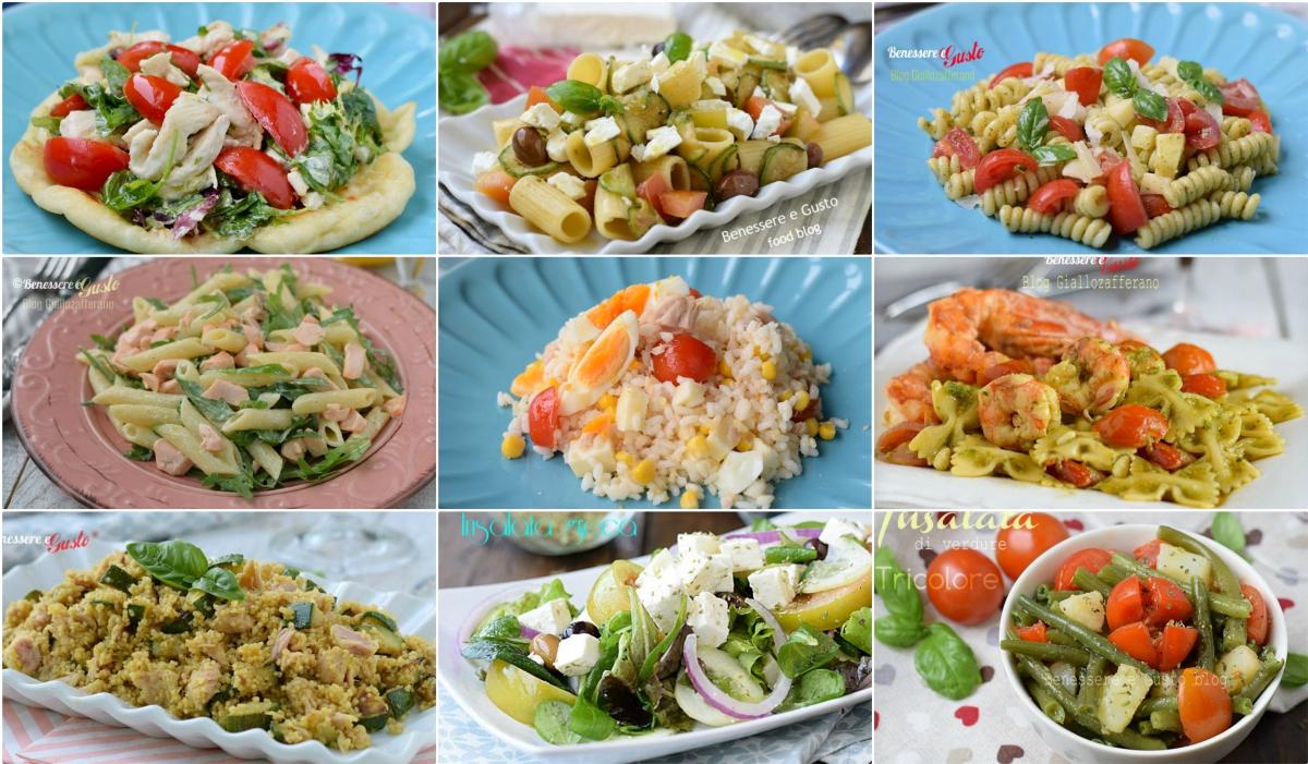 insalate estive ricette piatti freschi