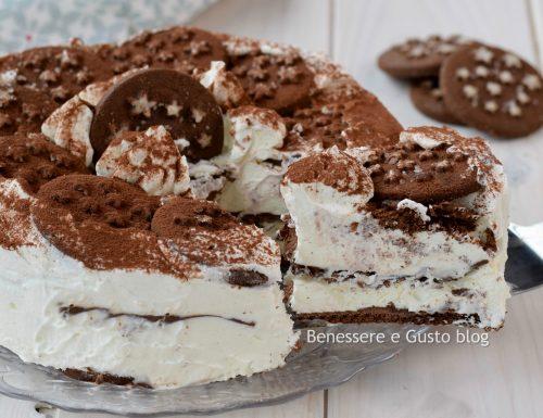 TORTA PAN DI STELLE versione gelato