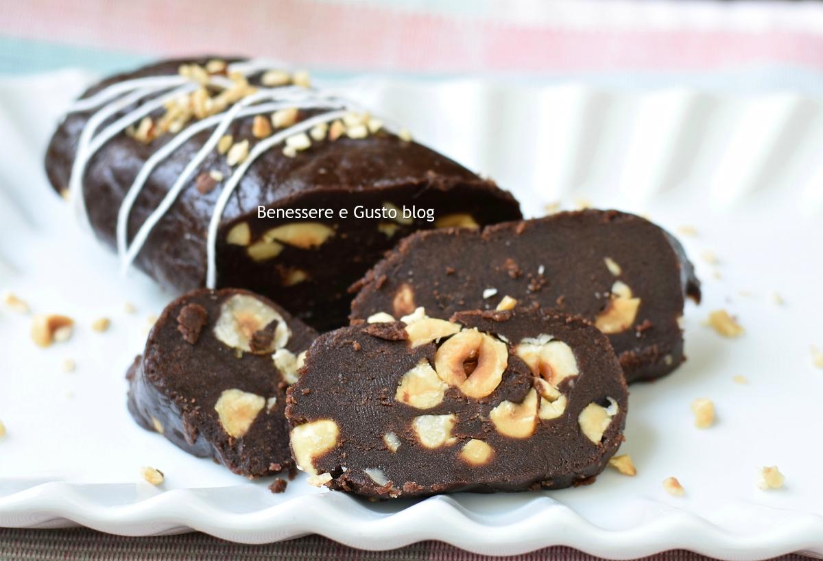 salame al cioccolato pan di stelle