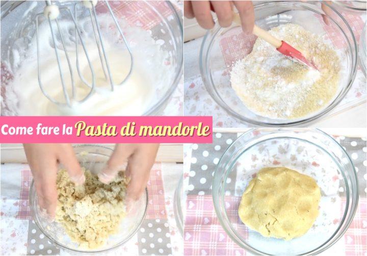 come fare la pasta di mandorle