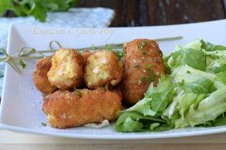 crocchè di patate e salmone