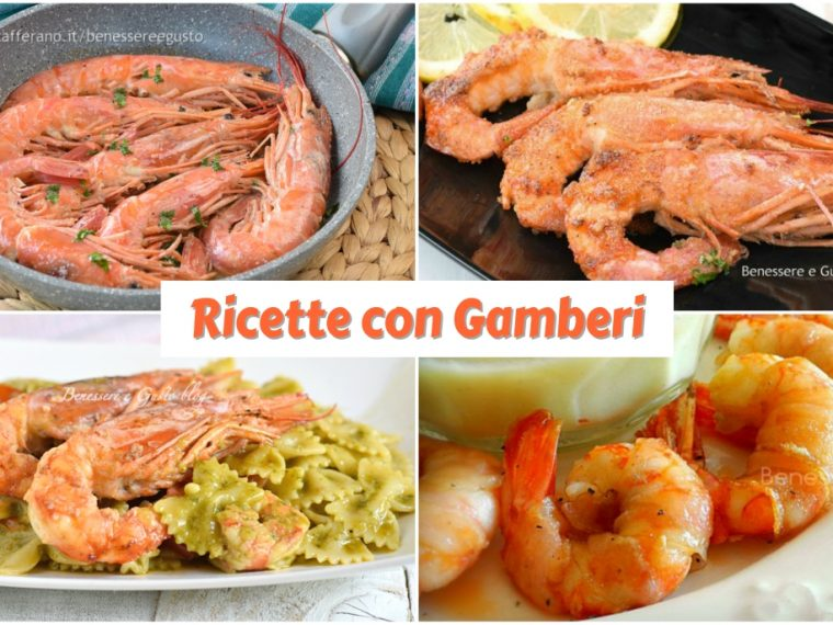 Ricette con Gamberi