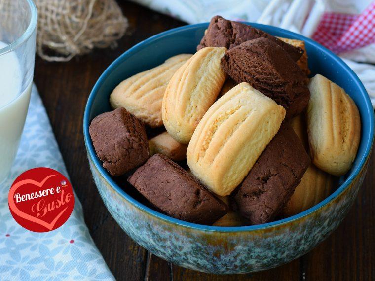 Biscotti senza burrocon pasta frolla all'olio