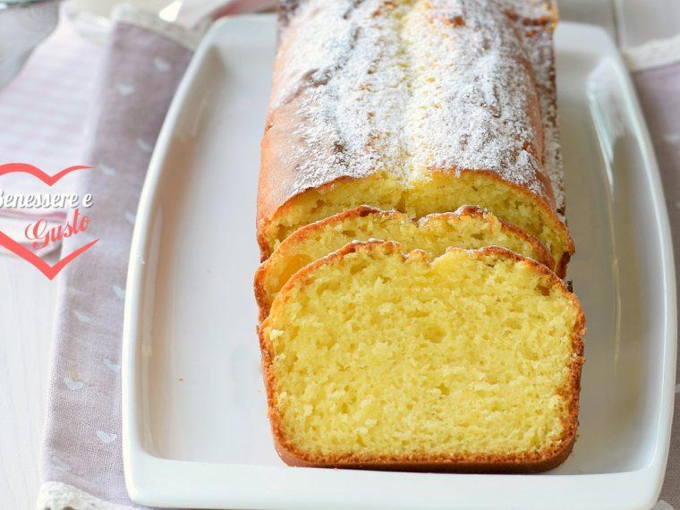 Plumcake alla panna ricetta della nonna