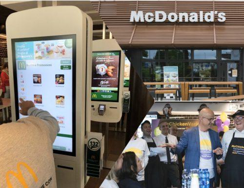 Esperienza da McDonald's nel segno dell'innovazione tecnologica