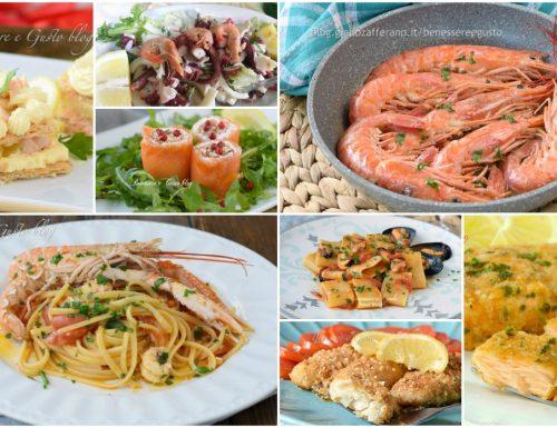 MENÙ DI PESCE ricette veloci per l'estate