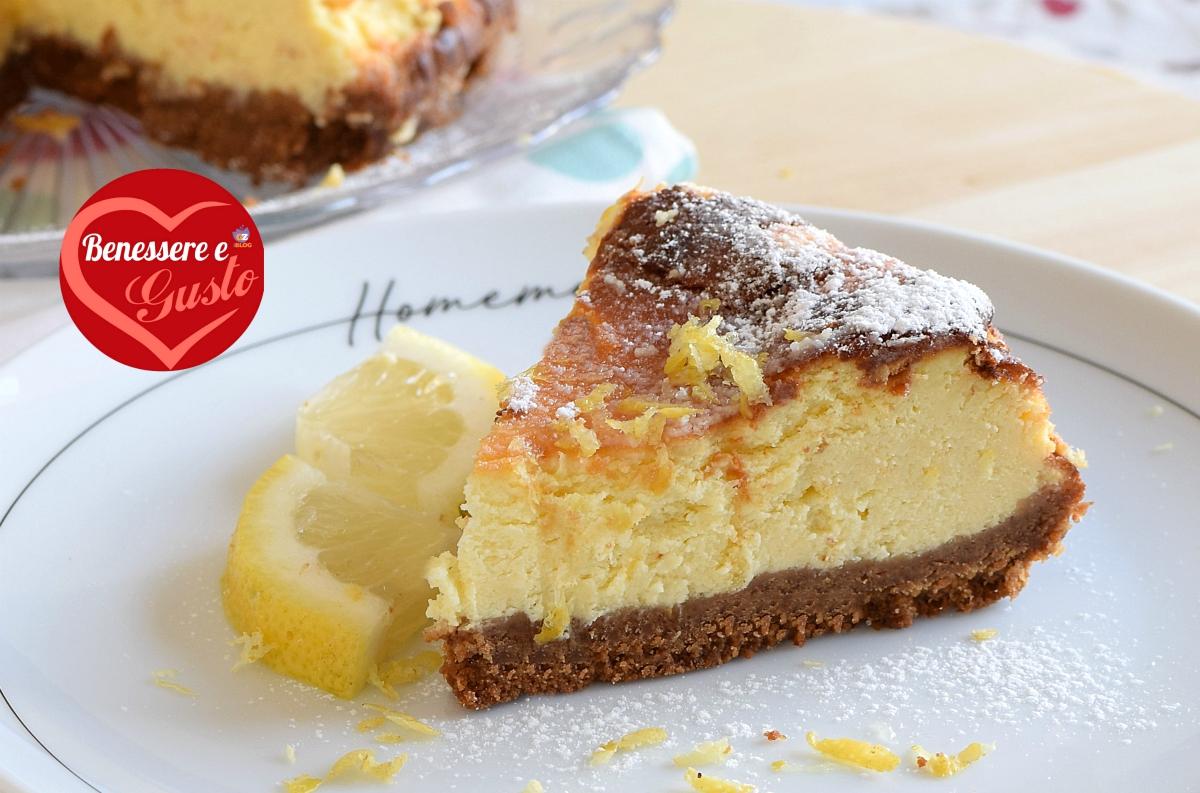 Cheesecake cotta al limone