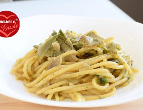 Spaghetti con i carciofi