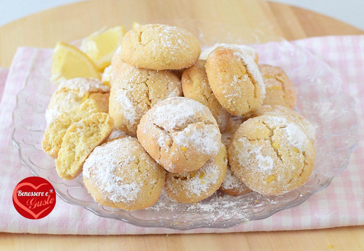 Biscotti limone e ricotta