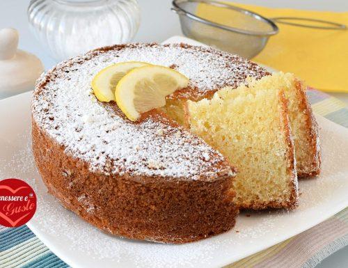 Torta 12 cucchiai al limone