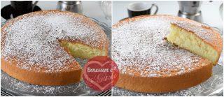 torta maddalena tagliata