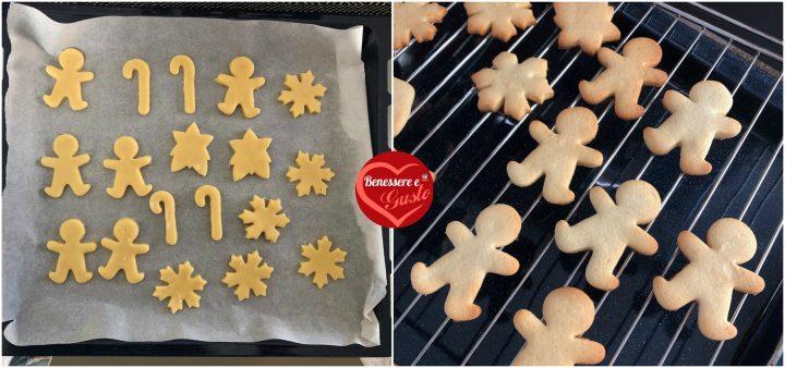 Cottura biscotti di natale