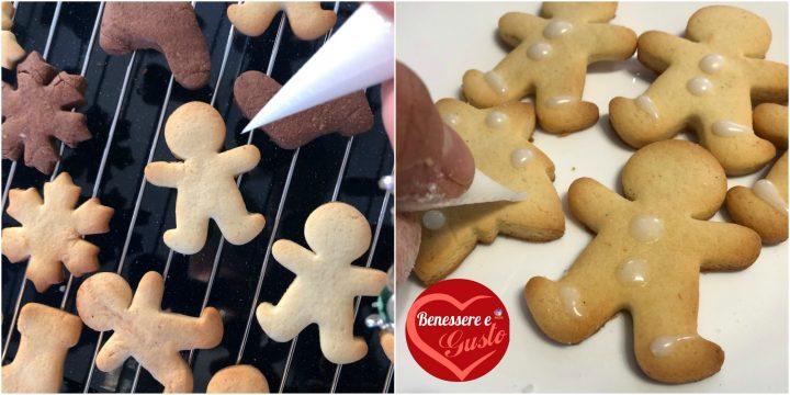 decorazione biscotti natalizi