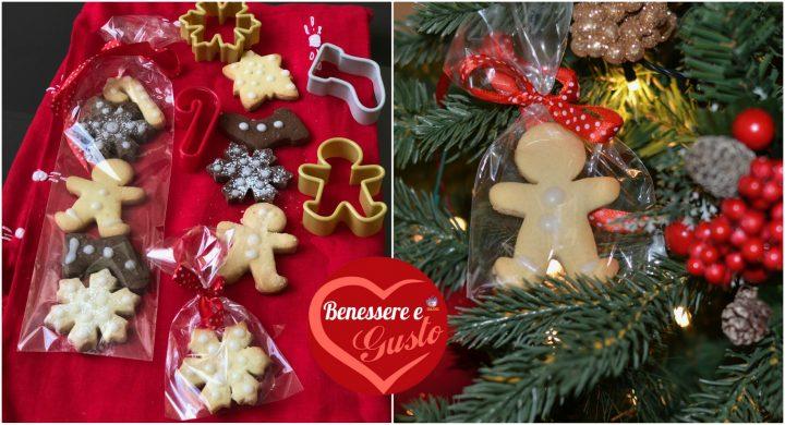 Confezione biscotti natalizi