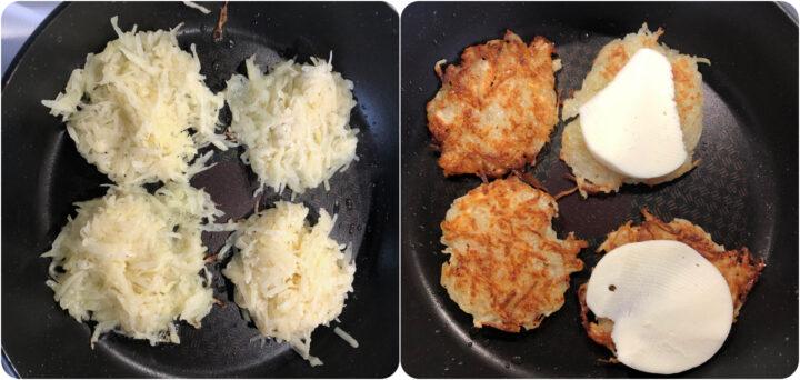 Come cuocere i Rosti di patate