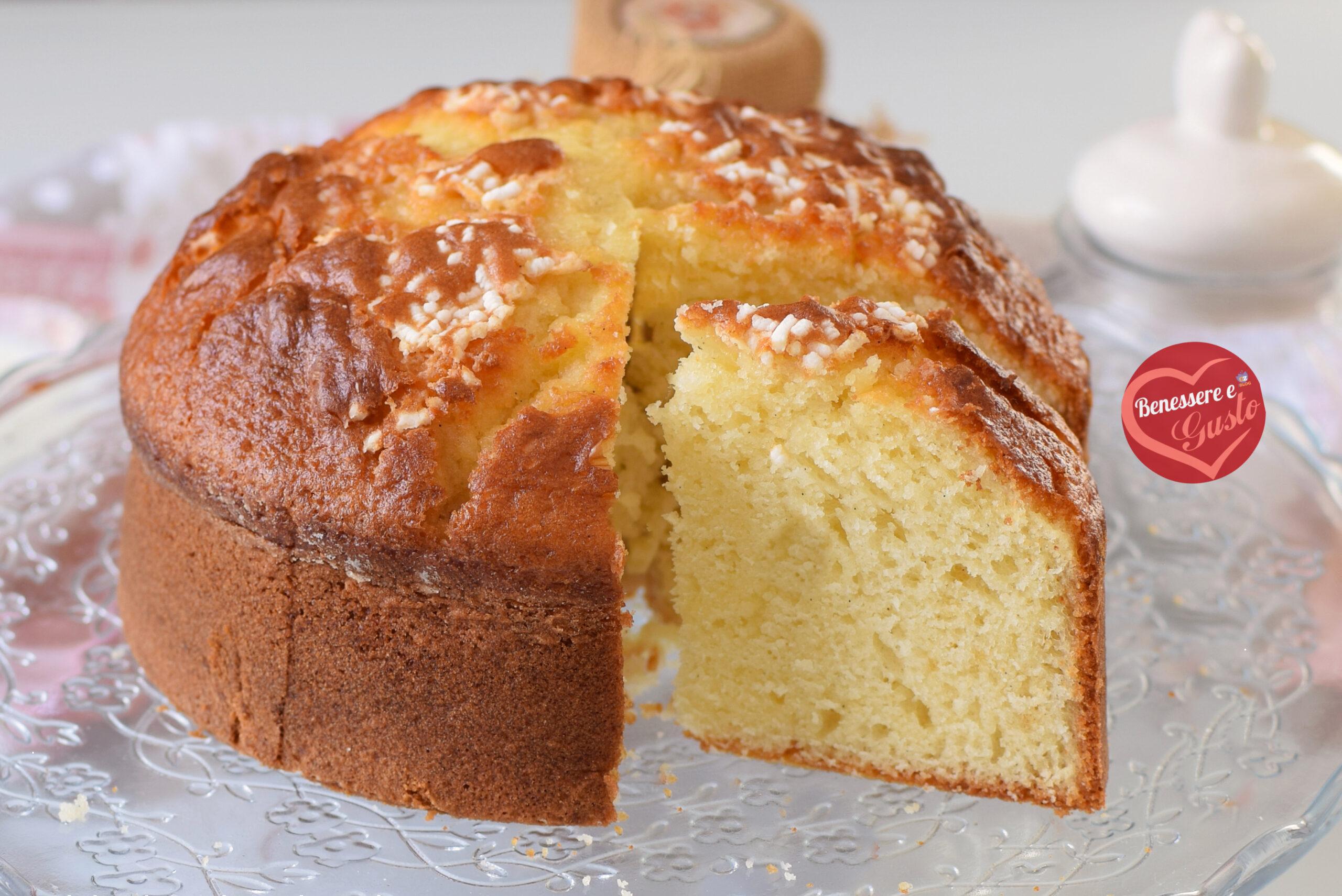 Torta soffice al Kefir