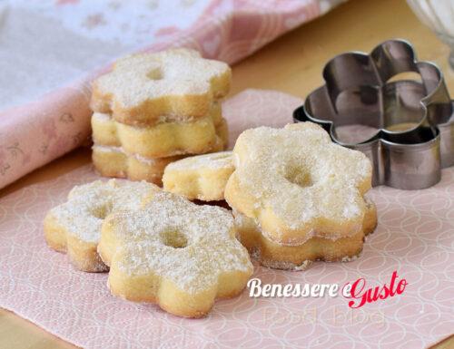 CANESTRELLI ricetta classica biscotti genovesi