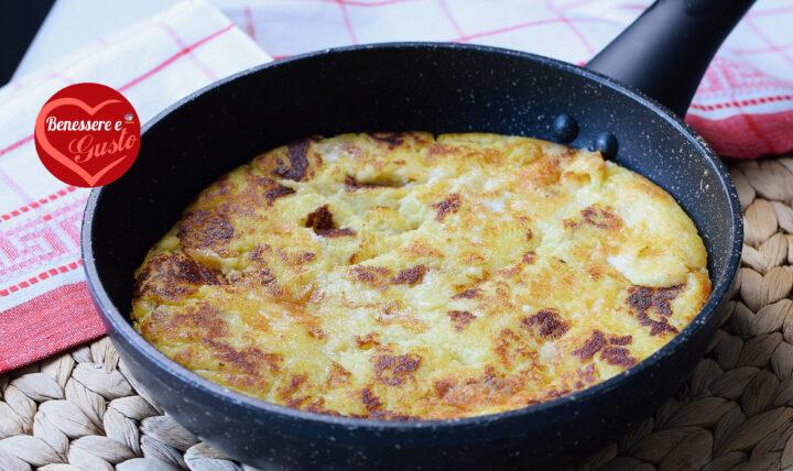 Torta di patate in padella