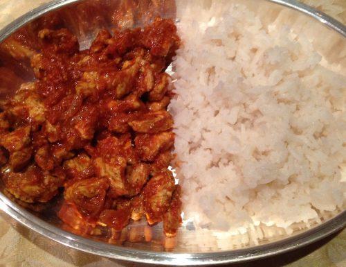 Pollo alle spezie indiane