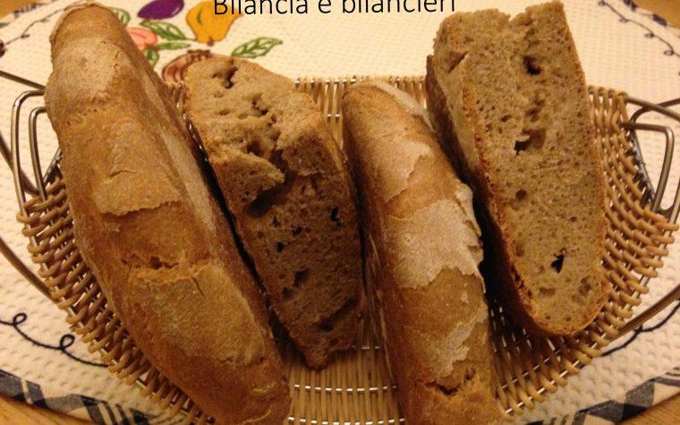 Pane con farina di farro integrale