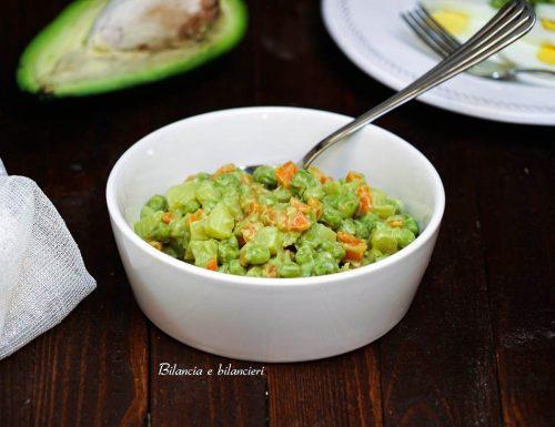 Insalata russa con maionese di avocado