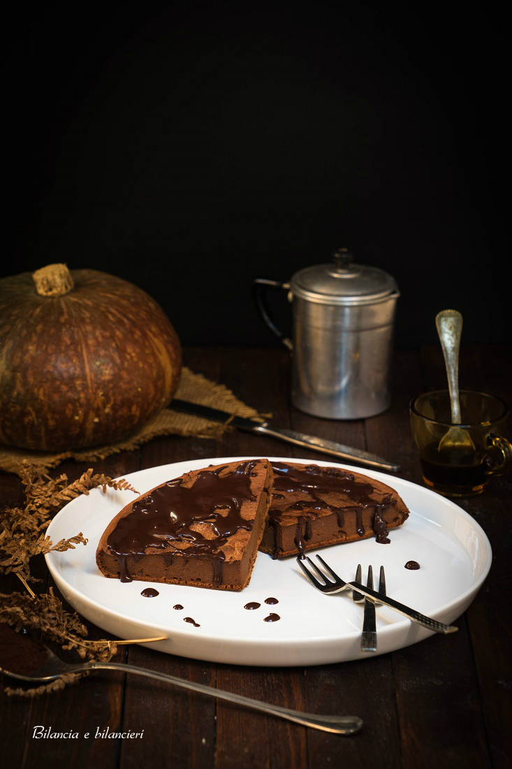 Tortina di Zucca al Cacao