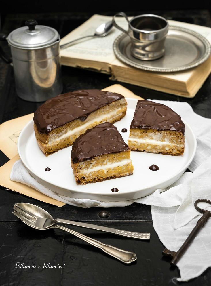 Pancake alla zucca con crema di mandorle alla carruba