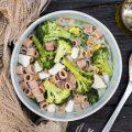 Minestra di pollo e broccoli siciliani