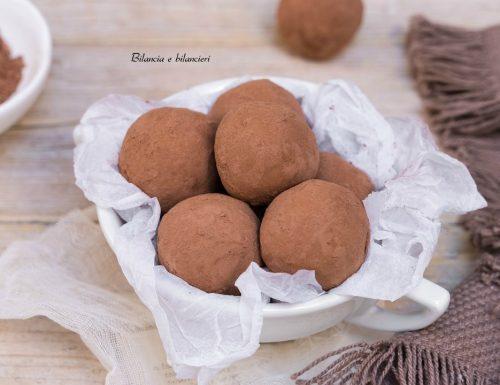 Tartufi di patate dolci al cacao