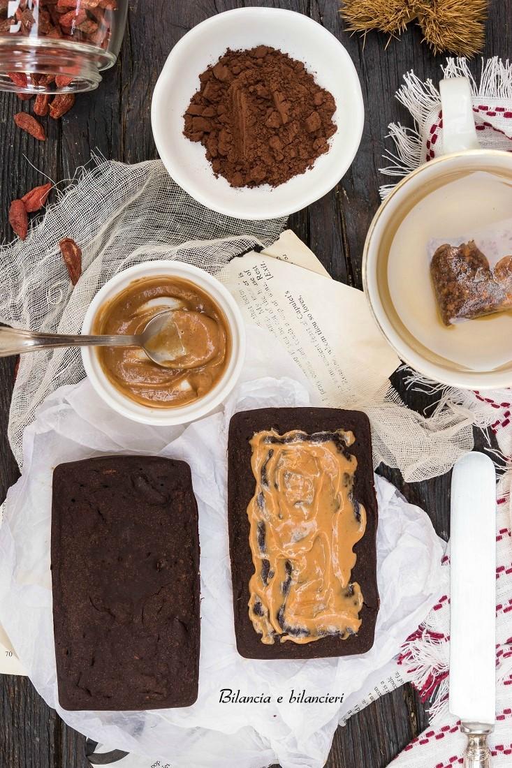 Tegolini pan di zenzero al cacao con bacche di Goji