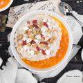 Porridge al cachi e mix d'amore
