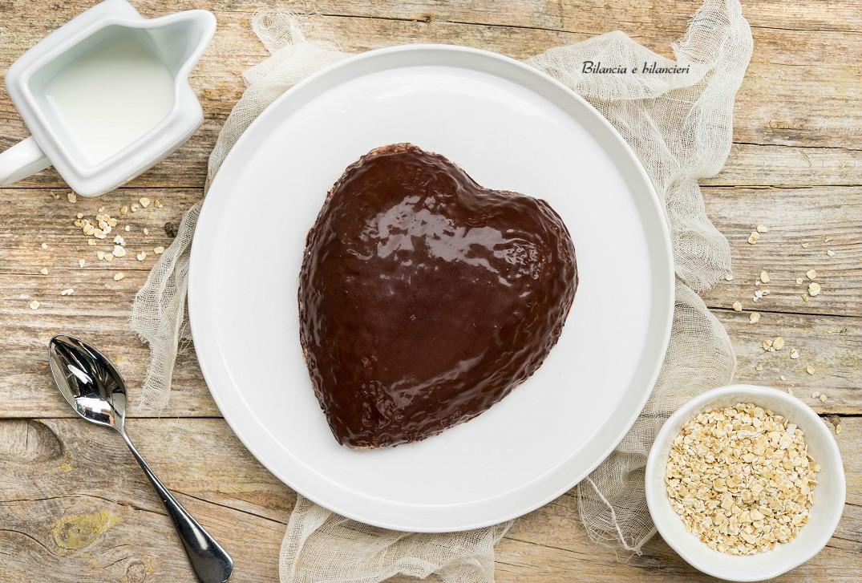 Zuccotto porridge di avena al cacao amaro