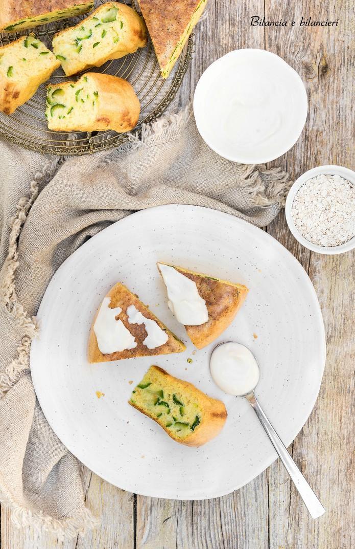 Pancake alle Zucchine con Farina di Mais e Fiocchi Proteici
