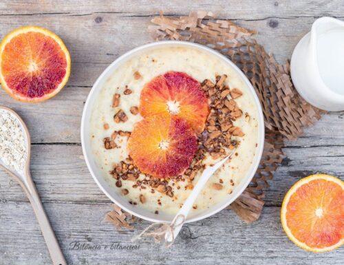 Porridge all'arancia