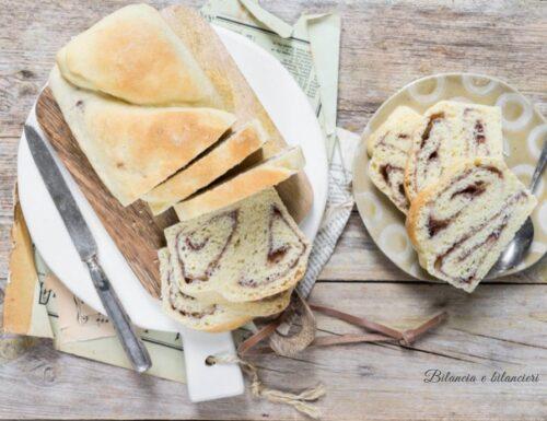 Pan brioche alla marmellata di fragole