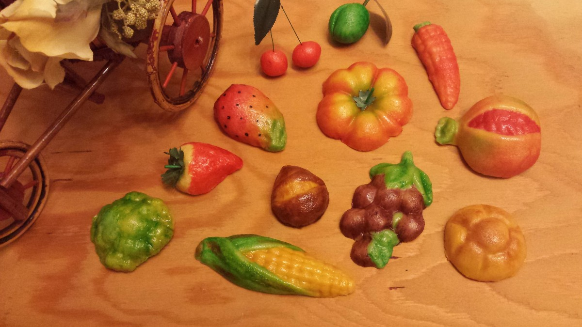 Frutta martorana bimby con rox - Glasse a specchio alla frutta ...