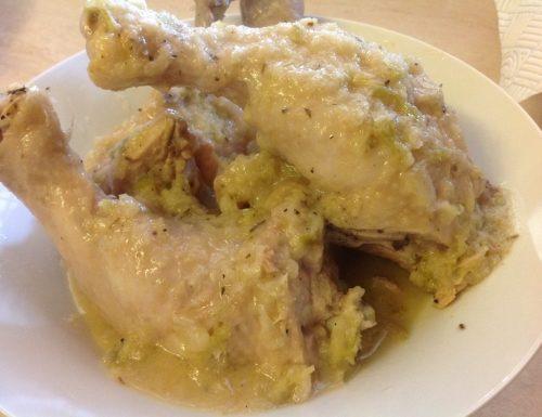 Cosce di Pollo stufate