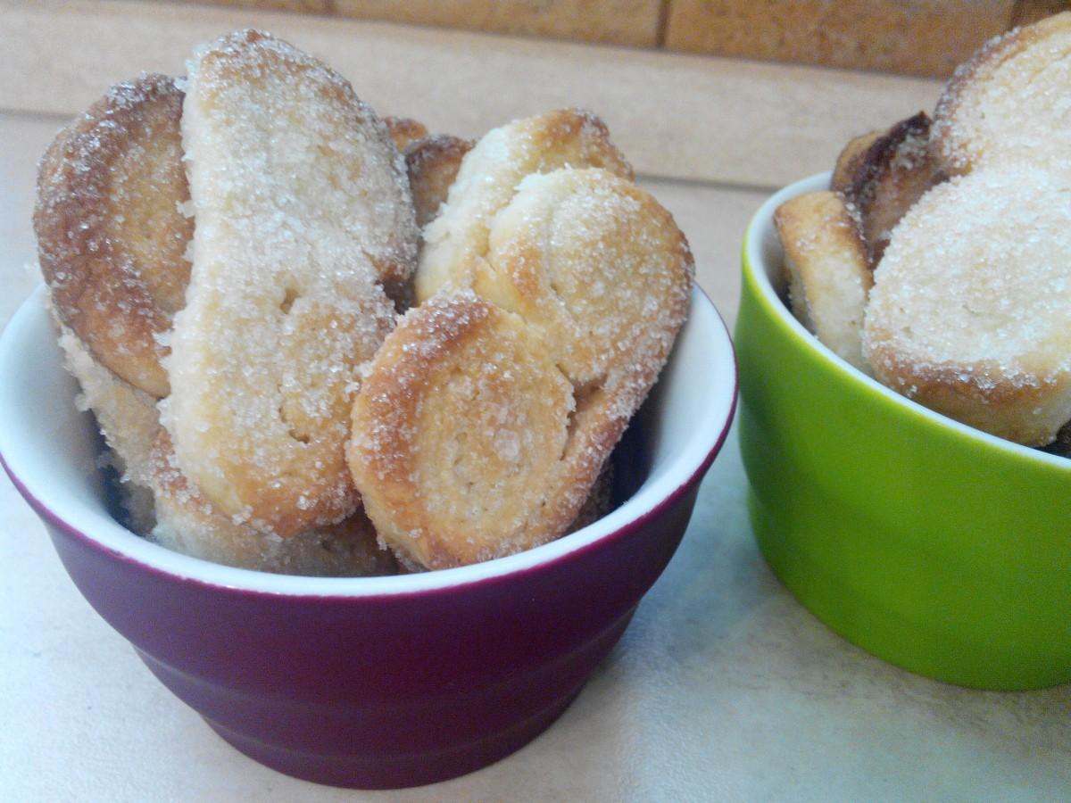 Biscotti Sfogliati alla Vaniglia